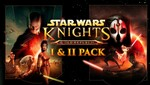 [PC] Star Wars: Knights of the Old Republic I & II Pack $3.45 @ Fanatical