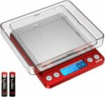 Brifit Digital Kitchen Scale, 3000g Pocket Cooking Scale $15.86 + Delivery @ AMIR&ORIA Direct via Amazon AU