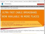 Telstra Bigpond Cable Bundle - 200GB & Home Line Rental for $78 Per Month (24 Months)