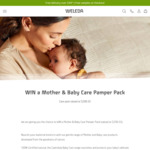 Win a Mother & Baby Care Pamper Pack Valued at $206.55 from Weleda