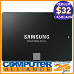 "[eBay Plus] 1TB Samsung 2.5"" 860 EVO SATA $134.10 ($102.10 after Cashback) @ Computer Alliance eBay"