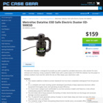 MetroVac Datavac ESD Safe Electric Duster ED-500ESD $159 + Shipping @ PC Case Gear