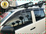 Weather Shields for Toyota Hilux Vigo Dual Cab 05-15 Models $49.99 (Was $63) Delivered @ Orientalautodecoration