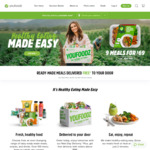 9 Meals for $59 (Free Delivery for Select Areas) @ Youfoodz