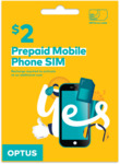 Optus $2 Pre-Paid SIM Starter Kit for $1 Delivered @ Optus