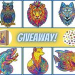Win a Wooden Animal Puzzle from Sensory Stand
