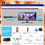 "Standing Desk $199, Monitor Arms $49.99, LG 29"" 29WL500-B Ultrawide LCD $249, Samsung Galaxy A11 32GB $149 @ ALDI"