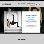 Free Felix Sports Bra with Purchase of Felix High Rise Leggings $85 Delivered @ Wrapdrive