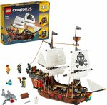 LEGO Creator 3in1 Pirate Ship 31109 Building Kit $93.17 Delivered @ Amazon AU