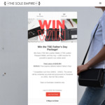 Win a Father's Day Leather Gift Package Worth $249 from The Sole Empire