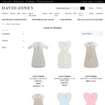 30% off Love to Dream Swaddles + Delivery ($0 with $50 Spend) @ David Jones