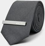 Elia Grey Tie $15 (RRP $79) Delivered @ Politix