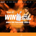 Win 1 of 5 Apple AirPods When You Purchase Ener-C