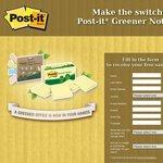 Free 3M Post-It Notes Sample Pack 2500 (Australia) 2500 (New Zealand) - Copy+Paste URL Link below