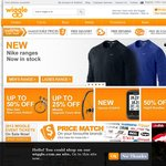 Wiggle - 20% off List Price Minimum Spend £100.00