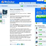 Revo Uninstaller Pro 3 - 3x Licenses $23.54 USD (BitsDujour)