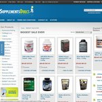 Mega Supplement Sale Now on at Supplements Direct