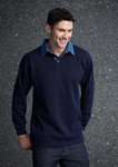 Biz Collection Mens Rugby Knit Jersey $15.95 RRP $30.95