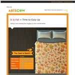 Personalized Blankets from $10.99 with Free Shipping @ArtsCow