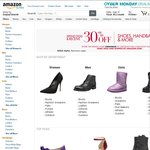 30% off $100 in Shoes Handbags and More