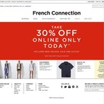 French Connection 30% off Storewide and Free Shipping Is on Again