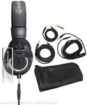 Audio-Technica ATH-M50x (Black) + 3 Cables $153.95 Delivered @ Gadget Bliss
