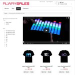 $10* off Only $19.95 Amazing Sound Activated LED Tees Great Xmas Gift @ Alwaysales.com.au