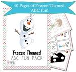 FREE: Disney's Frozen Themed Kids Fun Pack