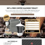 Free Coffee Machine with Min Coffee Capsule Spend $95 Annually