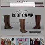 40% off Women's Calf Fitting Boots - Free Postage @ Duo Boots