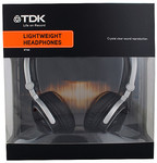 TDK Headphones ST160 for $10  @ Target