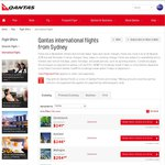 Qantas Flash Sale SYD to BKK $649 Return; Travel 2 May to 12 Jun 2016; Book to 4 Sep