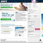 Orbitz.com 15% off (2+ Nights Hotel Stay)