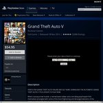 12 Deals of Christmas PSN Deal #9: GTA V for $54.95 AU PSN
