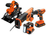 50% off Black & Decker 18V Lithium-Ion 4 Piece Cordless Kit $99, 50% off All Mirrors, Wallpaper & Wall Art + More @ Masters