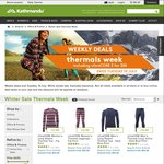 Thermals Sale - UltraCORE Tops/Bottoms 2 for $50 - C&C or Free Shipping over $100 @ Kathmandu