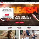 50% off on New Balance Non-Discounted Products from New Balance Website