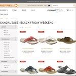 10% - 35% off Men's and Women's Sandals at Merrell Australia