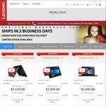 Lenovo 12/12 One Day Sale - ThinkPad X1 Yoga $1599 (i5/8GB/256GB), Yoga 460 $1199 (i5/16GB/256GB), E560 $679 (i5/8GB/256GB)