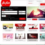 AirAsia 20% off with Code Via App