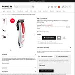 VS Sassoon Sportz High Performance Clipper VSM952A Was $69.95 Now $24.95 @ Myer