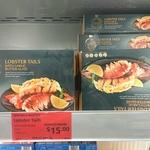 Lobster Tails with Garlic Butter Glaze $15 (Was $29.99) @ ALDI