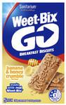 Weet Bix Go Breakfast Biscuits (250g) for $2.50 @ Coles + $5 Rebel Sport Voucher