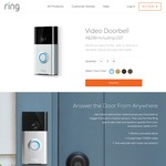 AU $50 off Ring Doorbell or Stickup Cam with Code ($249 + Shipping) @ Ring
