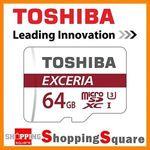 Toshiba 64GB U3 Micro SD Card $32.72 Delivered @ Shopping Square eBay