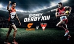 Save 35% - GIANTS vs Sydney Swans at Spotless Stadium - Sydney Derby XIII (Via Groupon)