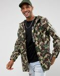 D-Struct Water Resistant Festival Camo Jacket with Hood $20 (RRP $145) Raen Garwood Square Sunglasses$20 (RRP$237) & More @ ASOS