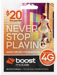Boost $20 SIM Kit $4.90 | Boost $40 Micro/Std SIM Kit $8 | Telstra $30 SIM Tablet Kit $11 | Delivered @ Mobileciti