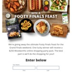 Win a $250 Woolworths Online Shopping Party Pack from Ocean Chef