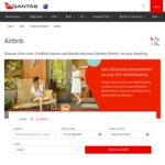500 Bonus Qantas Points for Your First Ever Airbnb Booking + 1 Point Per $1 Spent @ Qantas